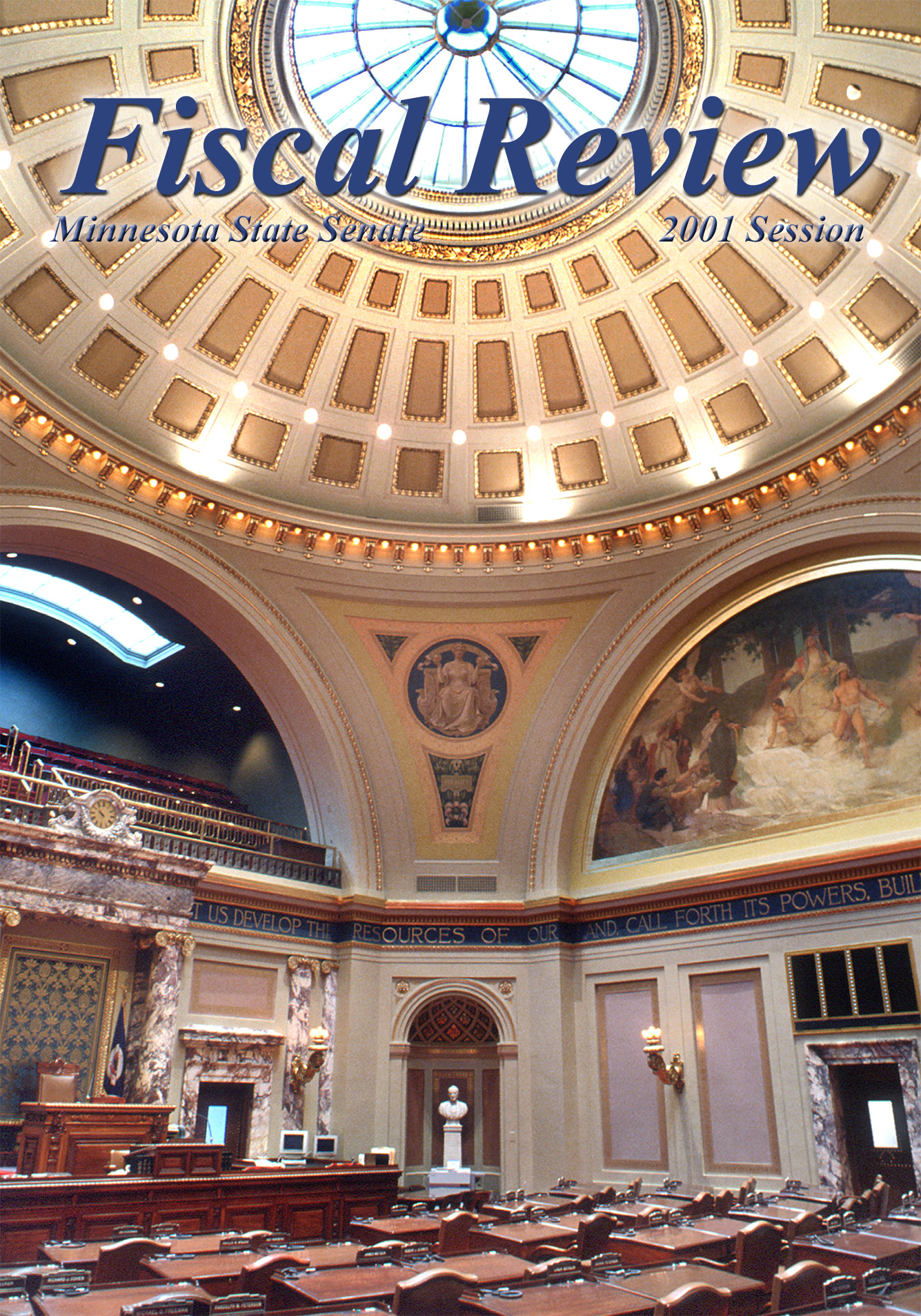 Cover of 2001 Fiscal Review