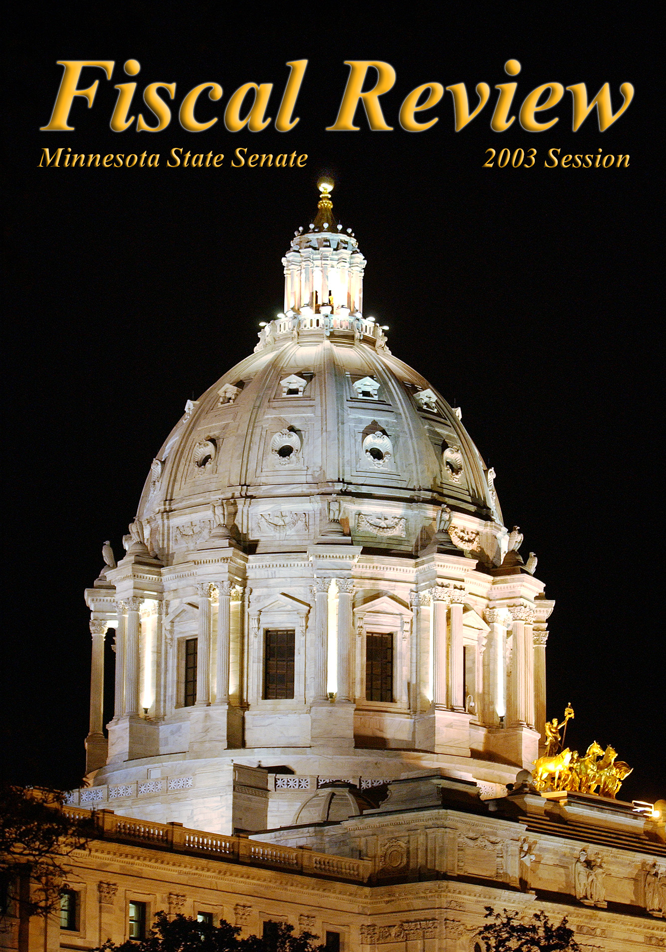 Cover of 2003 Fiscal Review