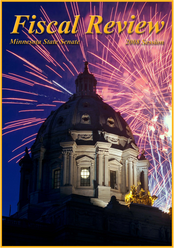 Cover of 2008 Fiscal Review