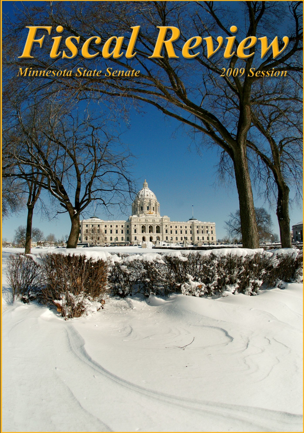 Cover of 2009 Fiscal Review